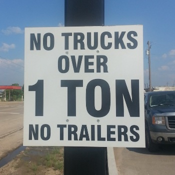 Aluminum Signs Stony Plain
