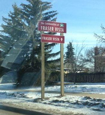 Wayfinding Signs Edmonton West