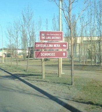 Calgary Wayfinding Signs