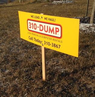 Yard Signs Stony Plain