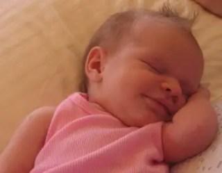 que-significa-sonar-con-bebe-durmiendo