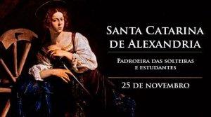 Oração de Santa Catarina de Alexandria
