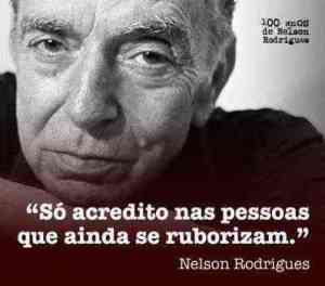 Nelson Rodrigues frases