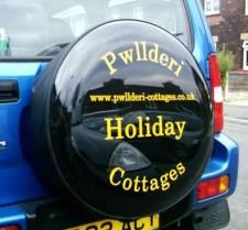 Cut Vinyl Semi Rigid Wheel Cover