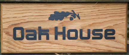 Driftwood Effect Oak Sign. The lettering is blasted away leaving the painted lettering slightly proud. Size 375 x 150mm. Font Benny. Image DD0067. ref - 1110.SS.048. http://www.sign-maker.net/wooden/driftwood-signs.htm