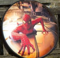 Full Wrap Semi Rigid Spiderman Wheel Cover