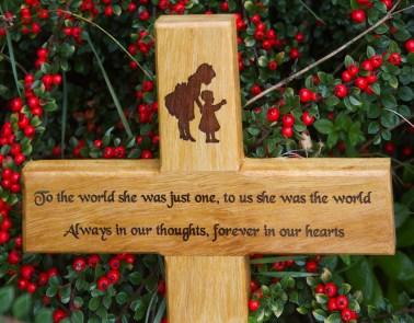 Iroko Memorial Cross