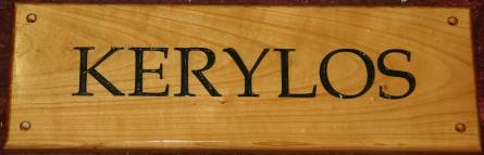 Cherry Sign - http://www.sign-maker.net/wooden/wooden-signs-cherry.htm