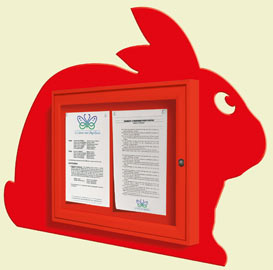 rabbit-posterholder