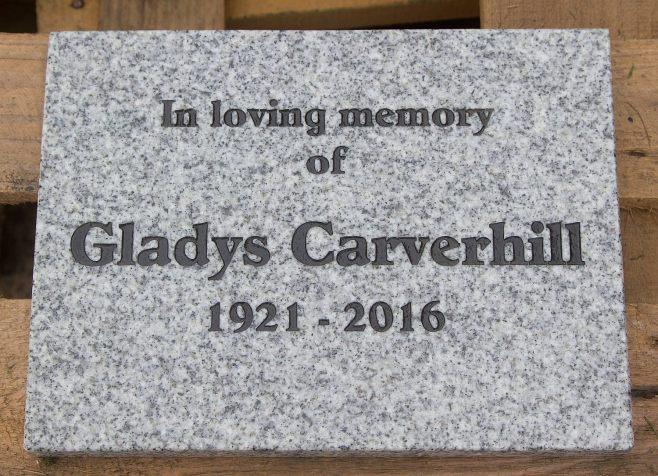 Small granite tablet