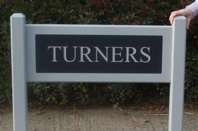 Superior Entrance Signs