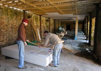 Building the offices