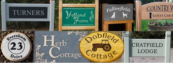 House Sign Gallery