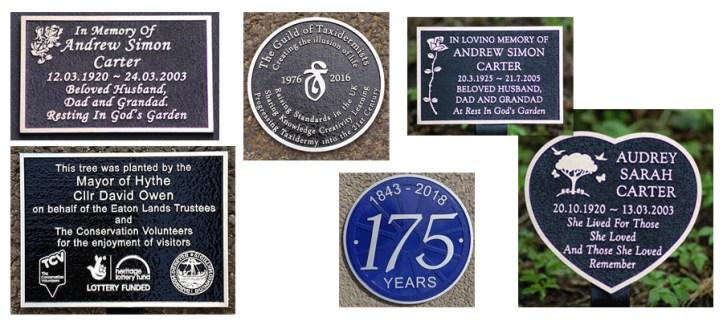cast aluminium memorial