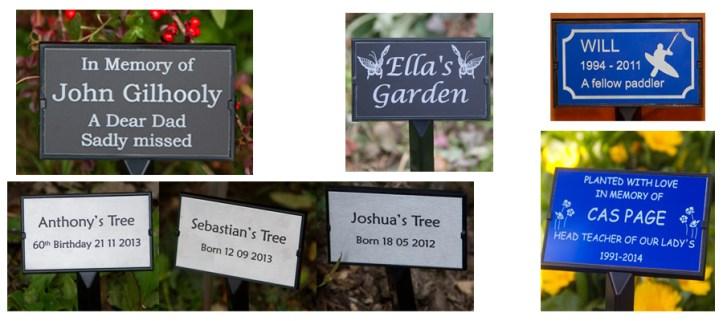 tree stake memorial