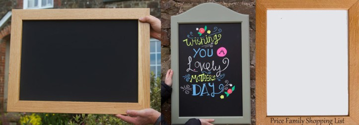 Chalkboards and whiteboards made onsite here at The Sign Maker in North Devon