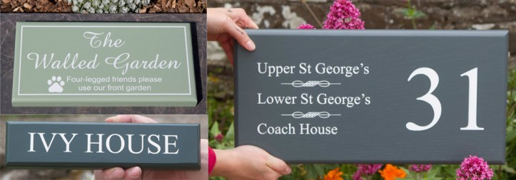Painted signs are a popular choice and can be brilliant as a business sign.