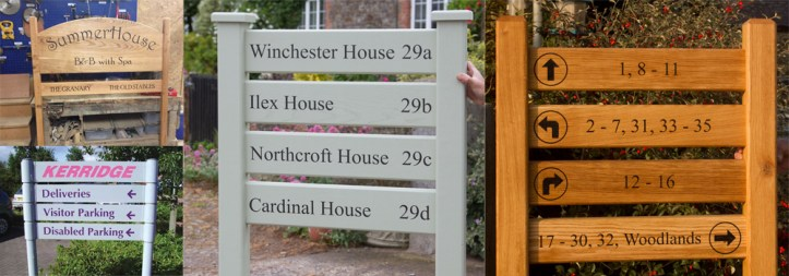 High quality Ladder signs made by craftsmen at The Sign Maker.