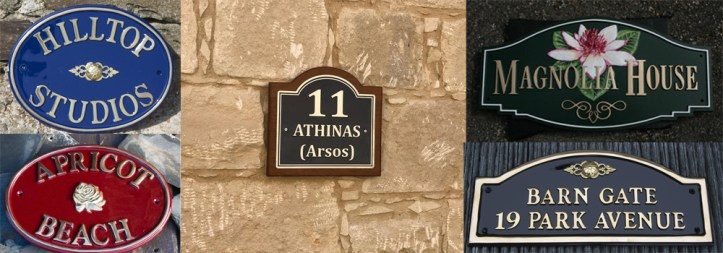 High-quality, traditional cast metal signs from The Sign Maker.
