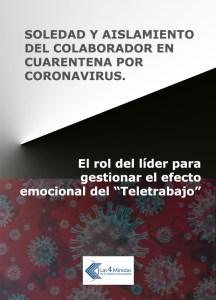SOLEDAD Y AISLAMIENTO DEL COLABORADOR EN CUARENTENA POR CORONAVIRUS