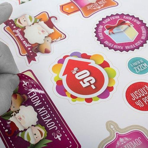 etiquettes et stickers personnalisables