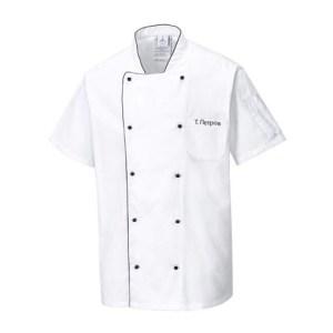 шефска куртка с име за готвач