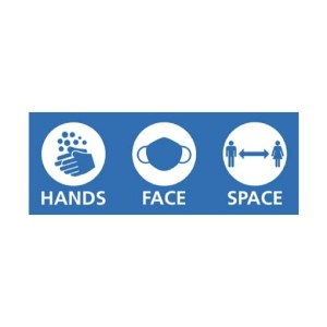 стикер hands face space вирус