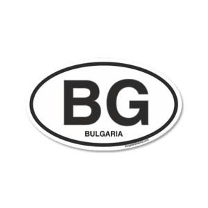 стикер BG bulgaria