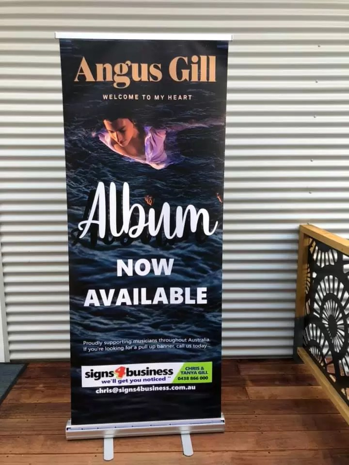 Pull Up Banners by Chris Gill Signs 4 Business