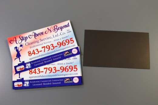 A Step Above & Beyond Cleaning Business Magnets 2