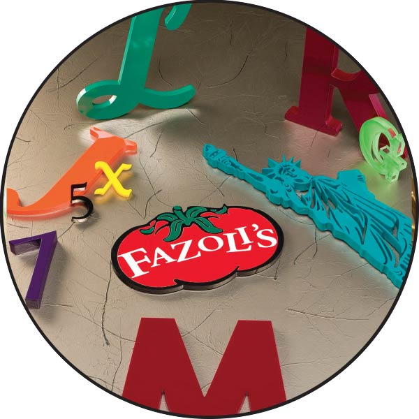 LASER CUT ACRYLIC LETTER SIGNS