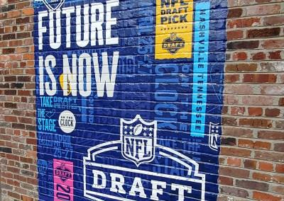 NFL Draft – Brick Wrap