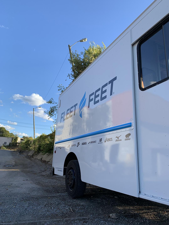 Fleet Feet_Truck Graphics
