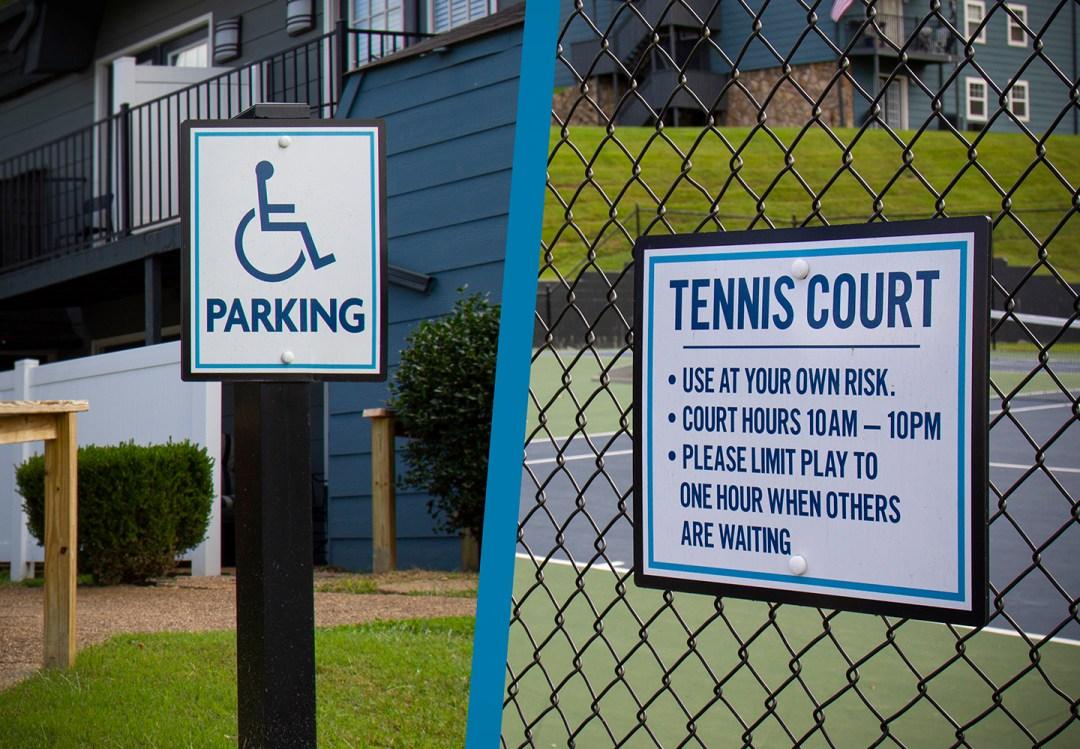 VUE_Handicap Tennis Court