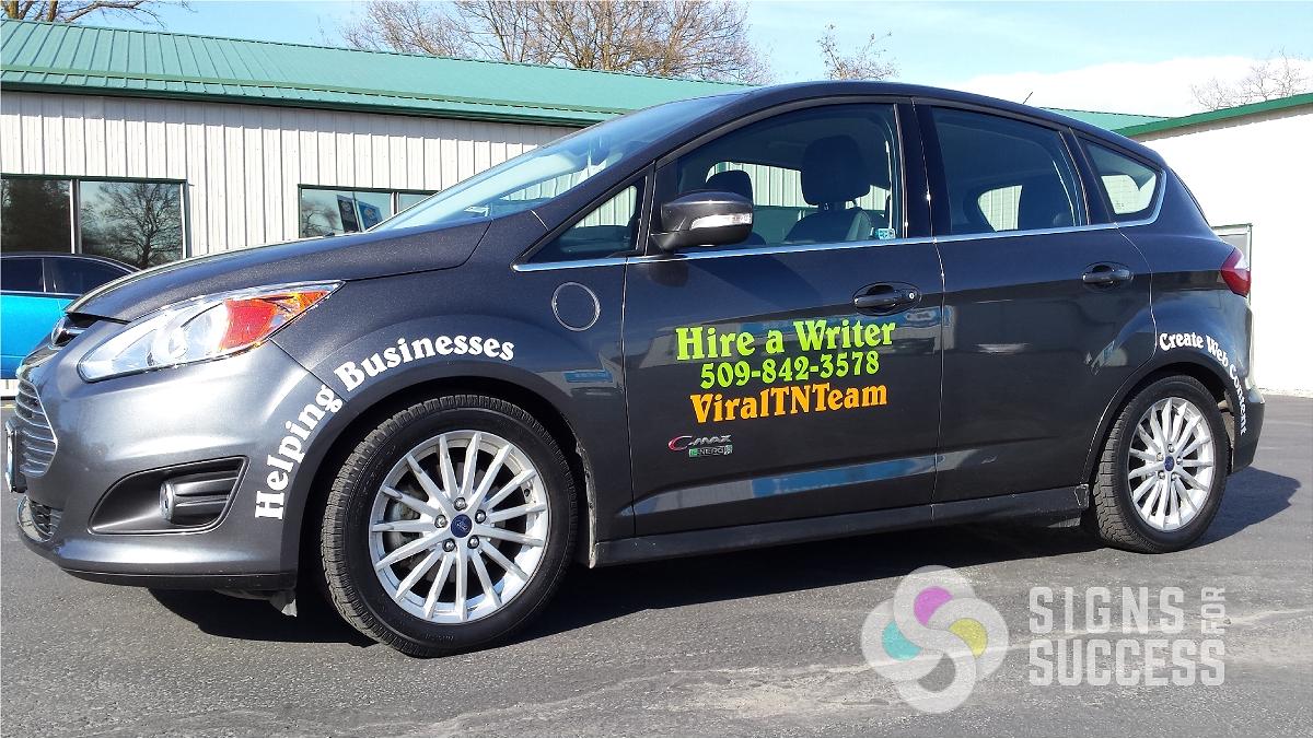 Spokane Vinyl Graphics Auto Wraps Vehicle Graphics In