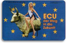 A Woman Rides The Beast German Phone Card