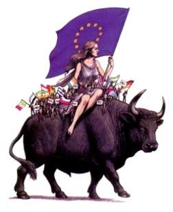 Time Magazine United Europe Europa Riding The Beast
