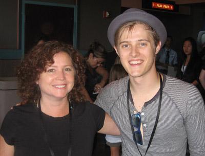 Caroline Manard and Lucas Grabeel