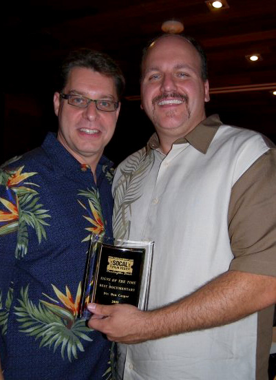 Jim and Ray with Award