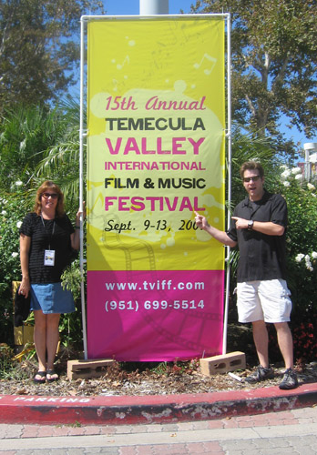 Anne Mills and Don Casper at TVIFF