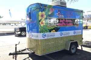 Food Truck Trailer Wrap