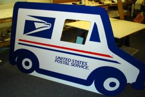 USPS Routed Sign