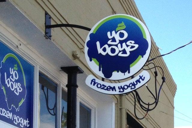 Yo Boys Frozen Yogurt