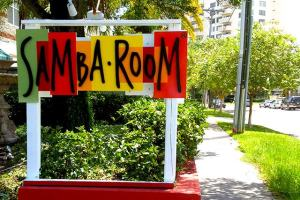 Samba Room Custom Routed Sign