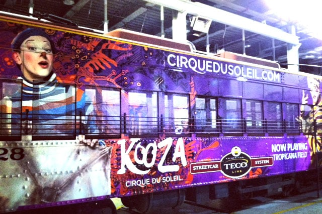 Streetcar Graphic Wrap