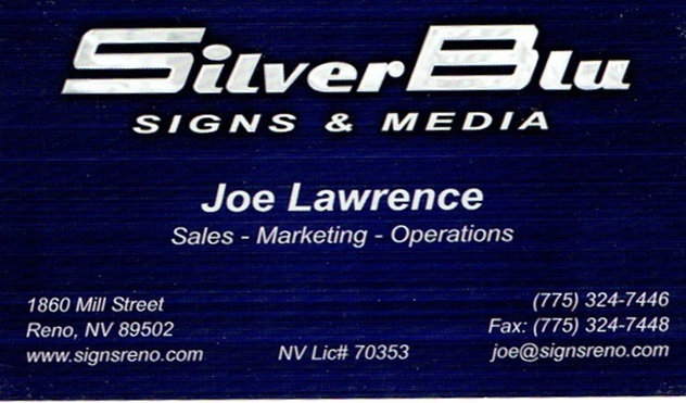 Silverblu signs media business cards brochures business cards brochures reheart Image collections
