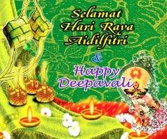 Raya Deepavali Banner Printing