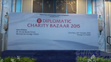 24 x 10ft Diplomatic Charity Bazzar with Dr Vivian at Shangri-La Hotel