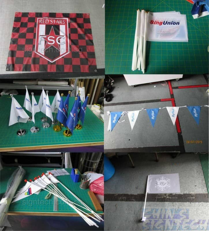 All sorts of flags printing products