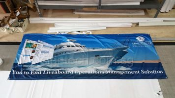 Fabric banner for oversea tour (2)